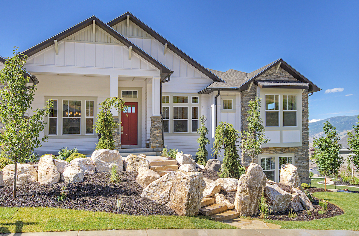 Home utah new home builders rainey homes 876 views for Utah home designers