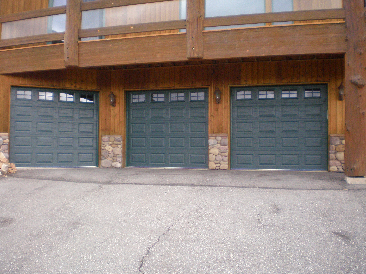 A plus garage doors llc communie for Garage door repair roy utah