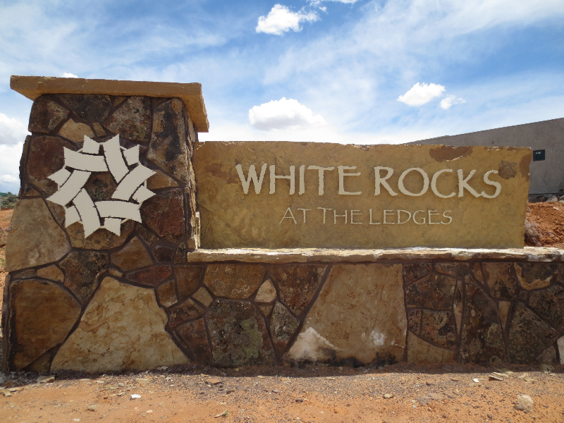 White Rocks At The Ledges