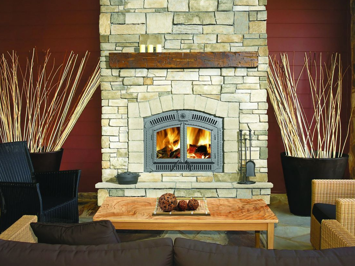 Wood Burning Fireplace Modern Wood Burning