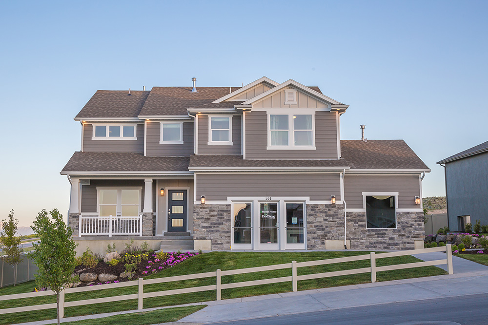 501 w deer meadow dr saratoga springs ut 84045 for Summit county home builders